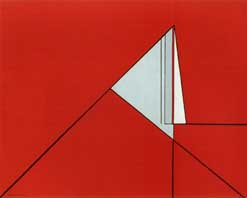 Composition rouge - 1955